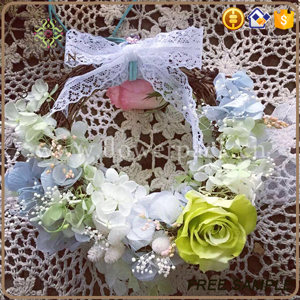 wholesale wreath garland flowers artificial wedding decoration