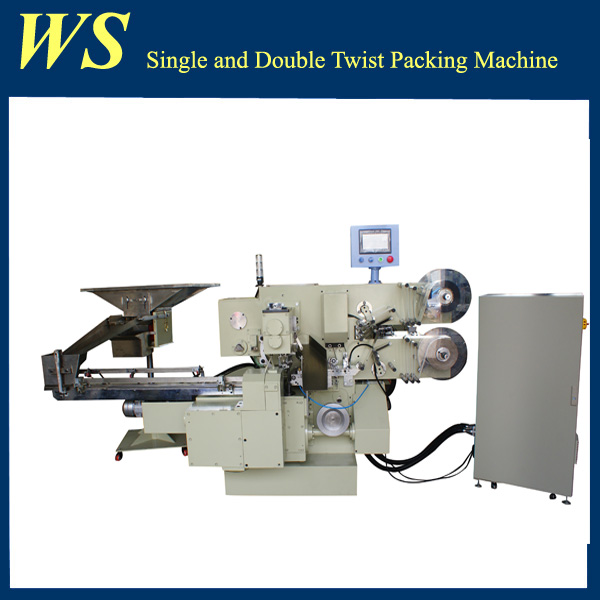 High Speed Rectangle Candy Chocolate Double Twist Packing Machine