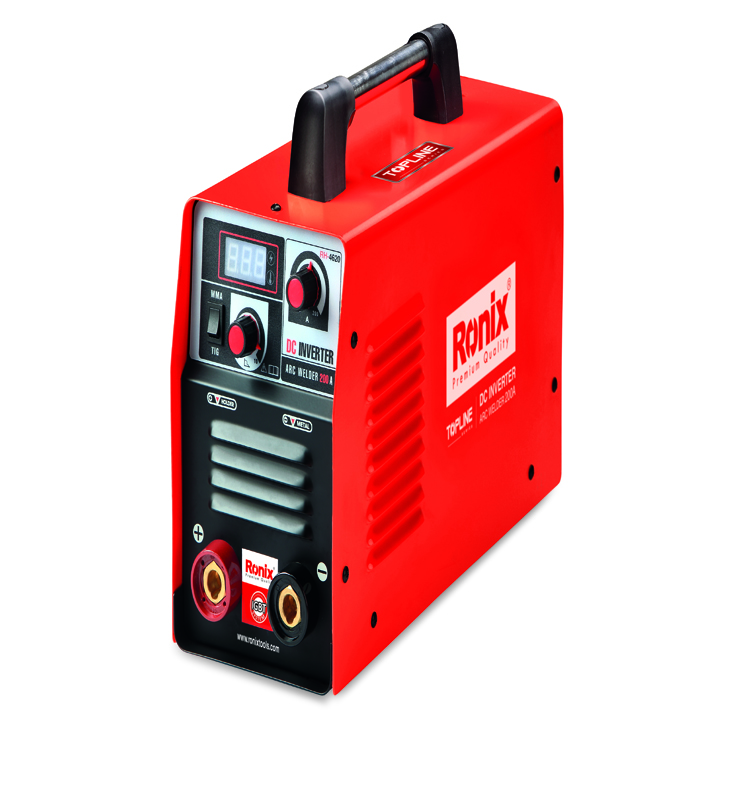 Ronix DC ARC portable welding inverter RH-4620 9.4KVA no load voltage 70V duty cycle60%