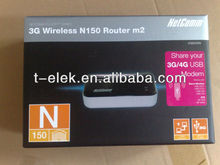 Netcomm's smallest wifi router for 3g/4g usb modems