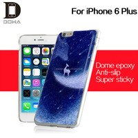 The hottest product manufacturer epoxy gel case for iphone with OEM for iphone6 plus