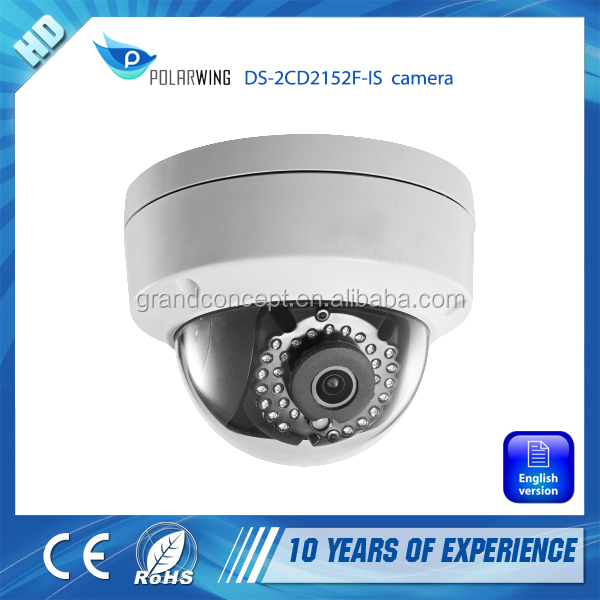 DS-2CD2152F-IS Network Mini Dome Camera cctv camera 30M IR Digital HD waterproof with POE power supply