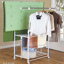 Laundry clothes drying rack
