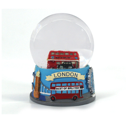 custom kids bus snow ball