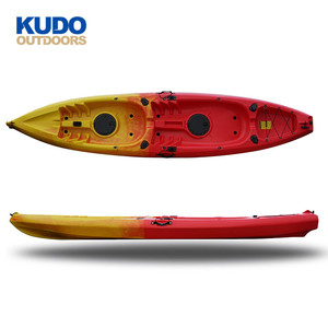 KUDO OUTDOORS Chinese New Professional Factory Wholesale Tandem 2 Person Kayak Sit On Top For Fishing