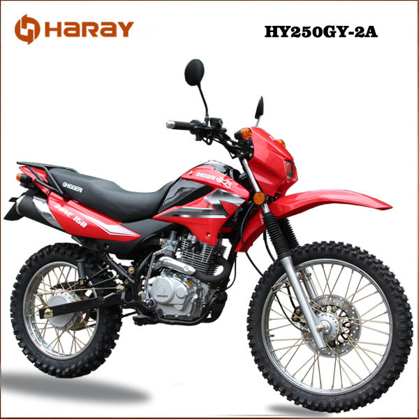 China Motorcycle for Sale! Cheap and Good Quality 250cc Dirt Bike or Off Road Motorcycle HY250GY-2A
