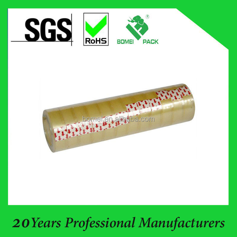 school stationery tape, Chinese clear stationery tape, manufacture stationery tape