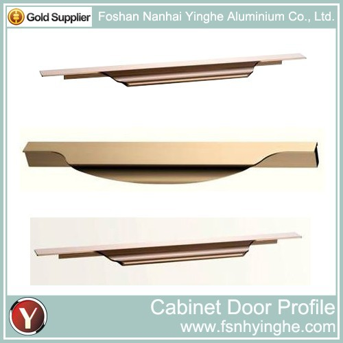 Popular Kitchen Cabinet Aluminium Door Frame Profile