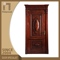 Colors Available Safety Main Entrance Wood Design Exterior Villa Door