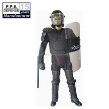Police and army used full body protective riot control anti riot gear