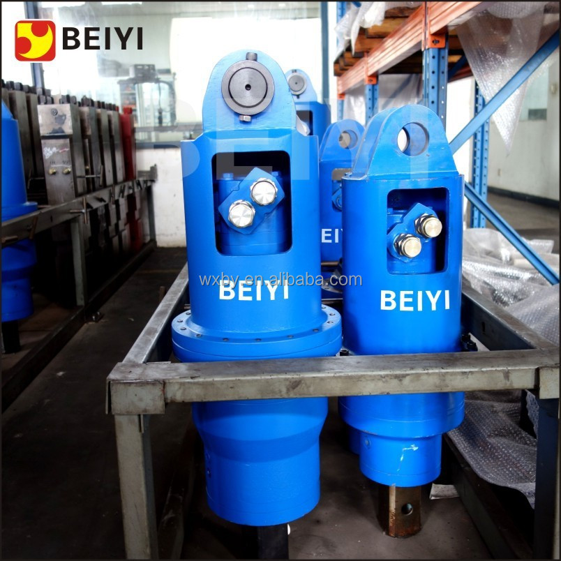 BeiYi drilling machine hydraulic auger drive motor for skid steer loader