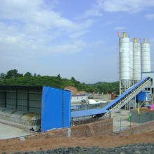 Automatic Ready mixed Concrete plant with capacity 120m3 per hour batching stataion , mixing stand