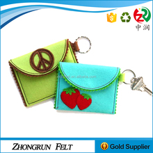 2017 New Fashion Wool Fabric Recycle Handbags Hand Made Felt Bag For Kids