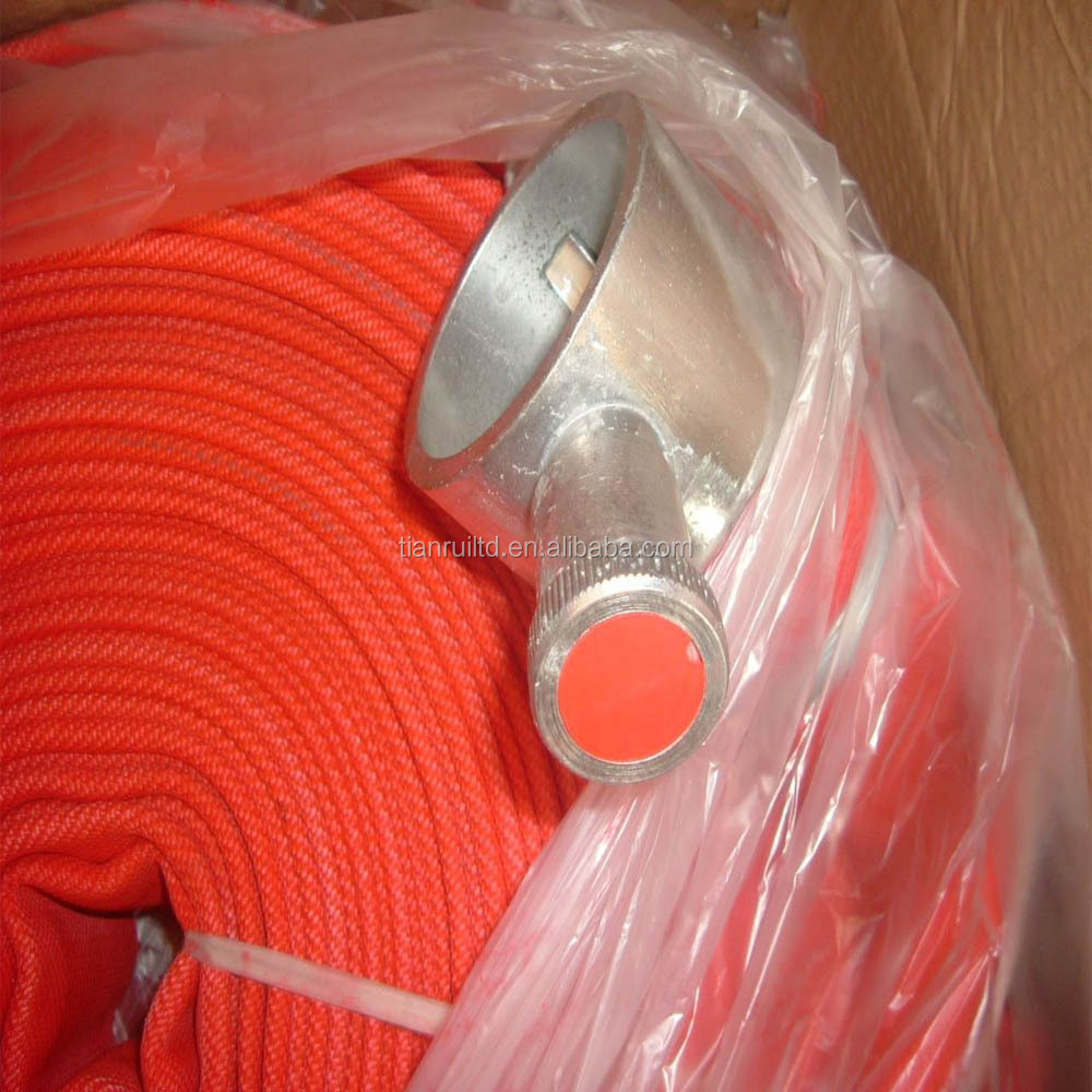 "2.5""*30m Single Jacket Rubber Fire Hose for Fire Fighting"