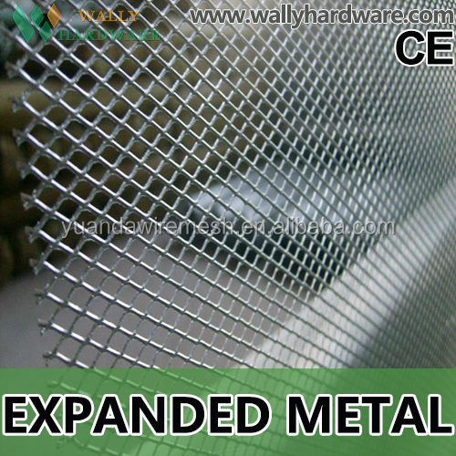 best price expanded aluminum mesh/decorative aluminum expanded metal mesh panels/diamond wire