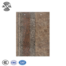 Professional corrosion resistance concrete flat clay roof tile