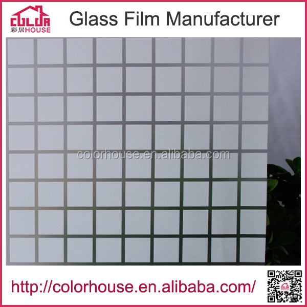 Self adhesive privacy window film smart electric glass film