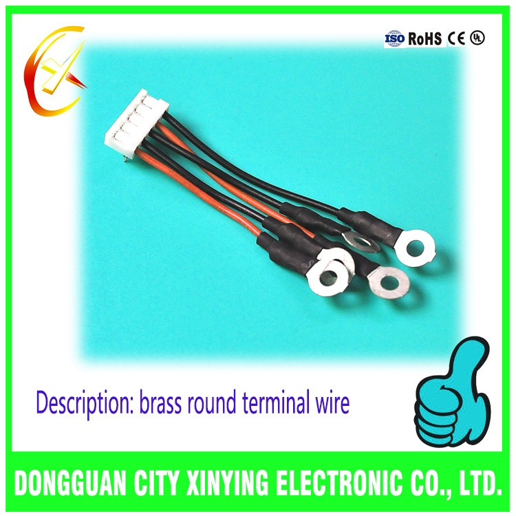 Oem Brass Round Ring Terminal To Jst Crimp Connector Wire Harness ...