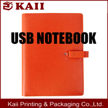 [ factory price advantage ] Leather Notebook, usb notebook, school notebook