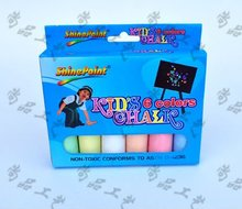 6 pcs sideaslk colored chalk powder