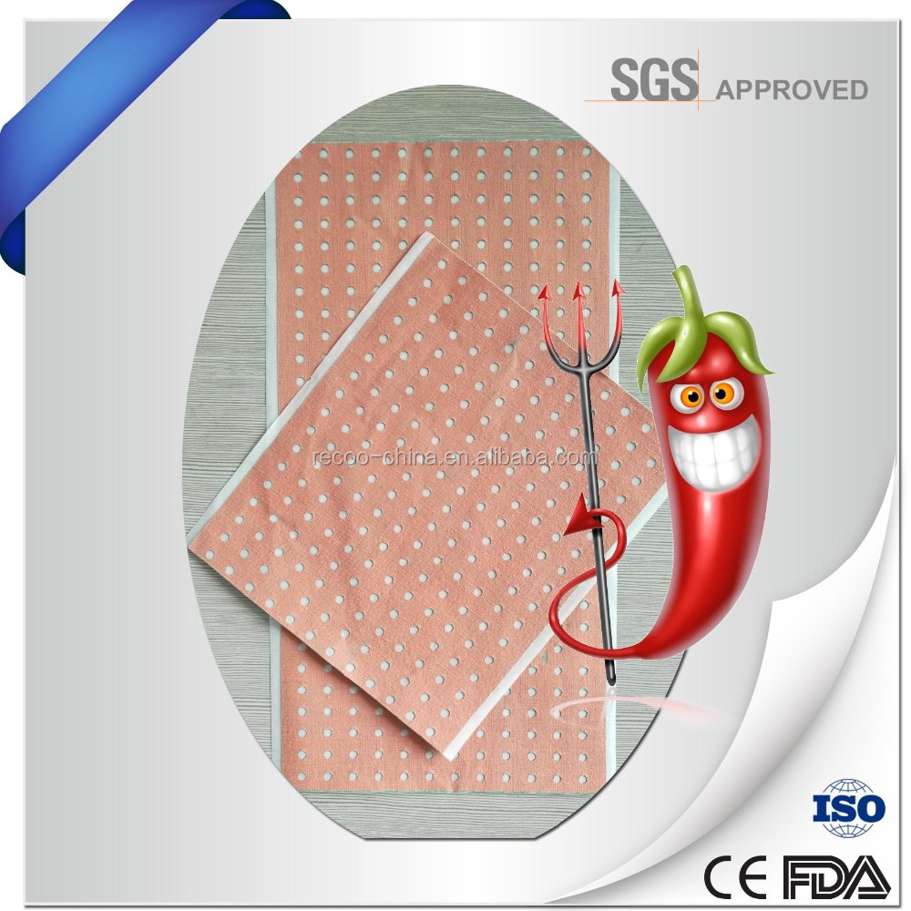 Pain Relief Heat Patch for Arthritis Capsicum Plaster Chilli Plaster