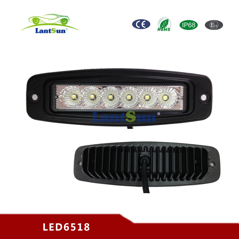 7inch 18w LED WORK LIGHT DUALLY FLUSH MOUNT DRIVING LED LIGHT