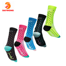 Daywons Professional Sport Socks Breathable Bicycle Stockings Outdoor Sports Racing Cycling Sock