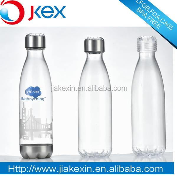 Free <strong>Sample</strong> LFGB/FDA/CA65/BPA Free/SGS Personalized Coke Shape Bottle
