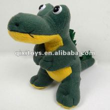 novelty cute stuffed green dinosaur plush toy