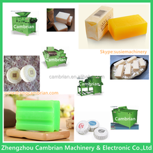 Raw material oil and fat 500kg/h soap making machine for laundry soap
