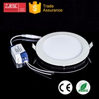 Embedded 18w Flat Small Round Led Panel Light