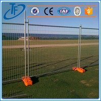 best seller temporary fence for volleyball court , welded temporary fence panels