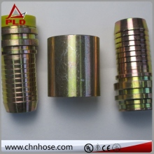 High temperature european type air hose coupling