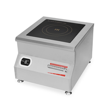 Low Price 8kw commerical induction cooker used #304 Stainless Steel cooker stove