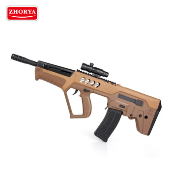 Zhorya tactical assemble plastic battery operated crystal gel ball water bullet toy gun
