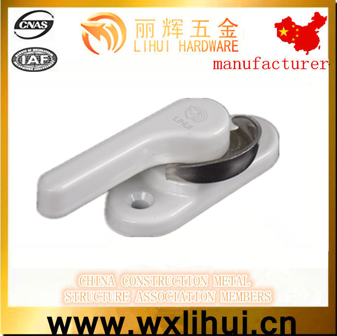 aluminum accessories sliding window security lock,upvc sash window lock .sliding sash window lock LH-YY08