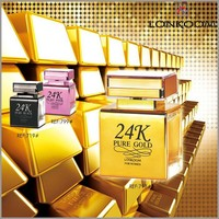 798# lonkoom star design 24k pure gold lonkoom perfume for women