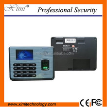 ZK time attendance with free software fingerprint and card time and attendance terminal time clock TCP/IP USB cheap price