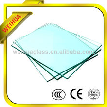 10mm Thick Clear bulletproof glass window For Building With CE Certificate