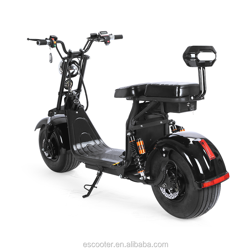Factory price 60V lithium electric motorcycle electric scooter 1200w citycoco scooter
