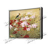Chinese traditional watercolour canvas painting with artistic frame oil painting art- lost in blossom