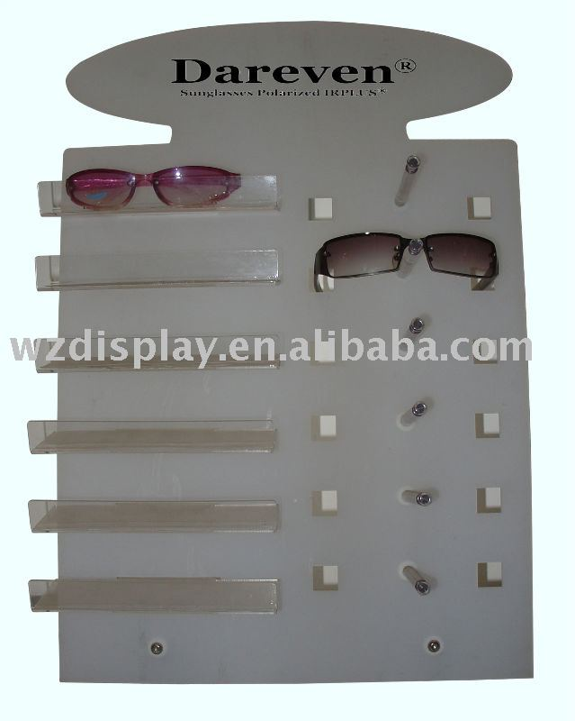 acrylic counter sunglasses display stand;eyeglsses display rack;spectacles display countertop
