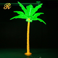 Acrylic led coconut palm tree for outdoor decoration