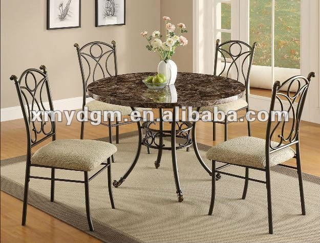 Carving 5 Piece Metal Dining Set MLdining H20, View Classical Dining Set,  MingLong Product Details From Xiamen City Yadi Industry Co., Ltd. On  Alibaba.com