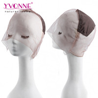 Factory price full lace thin skin wig caps monofilament wig cap net