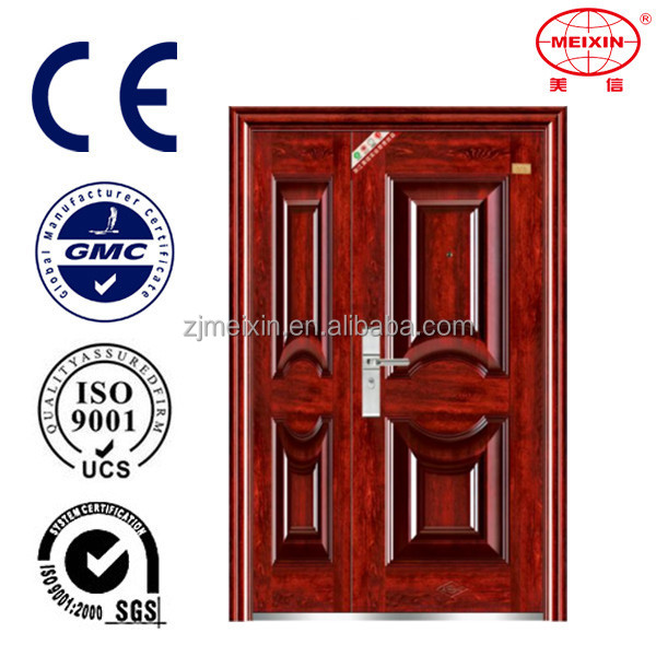 Custom color China manufacture composite interior safety steel door