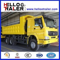 China Sinotruk 6x4 HOWO 18m3 Heavy Mining Cargo Dumper Tipper Dump Trucks for sale