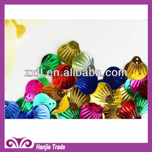 Bulk Loose Sequin in Shell Shape Colorful for sequin dress