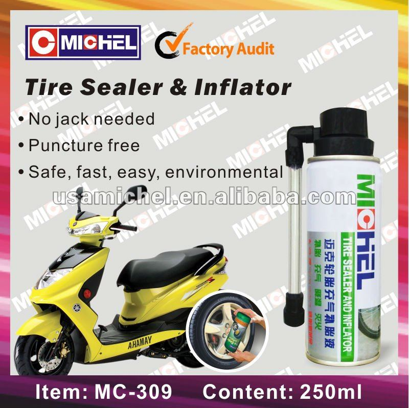 250ml Tire Sealant and Inflator with color box,Tyre Sealer and Inflator