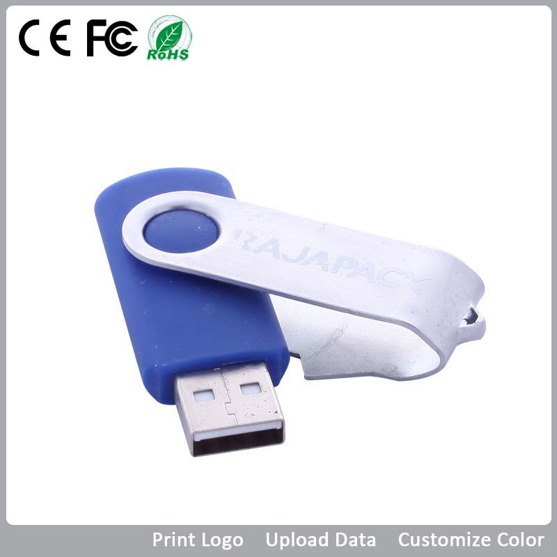 USB Flash Drive in Computer VDF-008 swivel